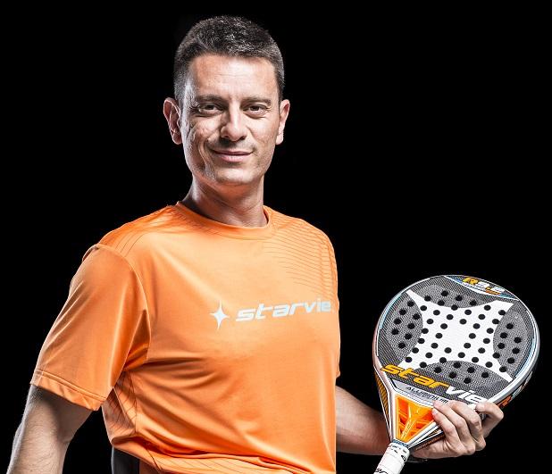 Víctor Carretón, padel silla StarVie