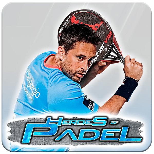 Matías Díaz, the first virtual padel player in Heroes of Padel