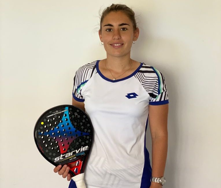 Laia Bonilla jugadora de padel StarVie